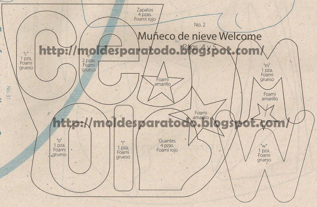 Moldes Y Patrones Revistas De Muecas Fofuchas Gratis Patrones Images