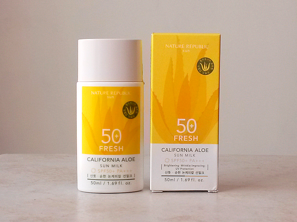 Fresh-California-Aloe-Sun-Milk-SPF50-Nature-Republic