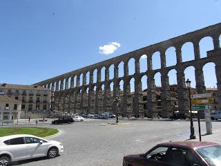 Acueducto de Segovia, ingeniería romana civil