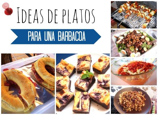 Ideas de platos para una barbacoa el saber culinario - Ideas para forrar una pared ...