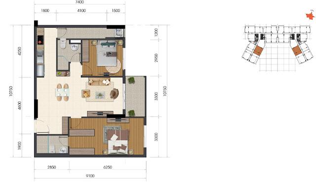 Dự án The Everrich Infinity Quận 5 căn hộ 6
