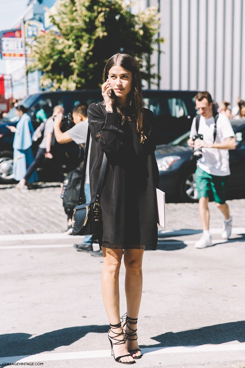 Street style new york at london fashion week street style 2015 cool chic style fashion Girl fashion style london