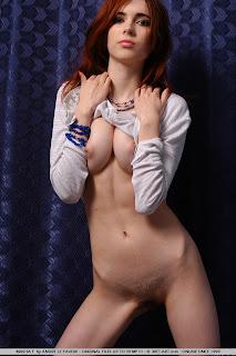 Met-Art - Masha F - Dikina - Hairy Pussy - 07