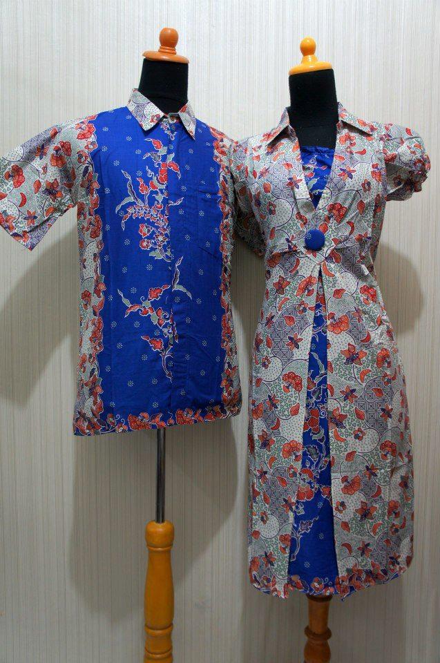 Baju Grosir Jogja Sarimbit Duyung Bunga Sdb Biru Sold