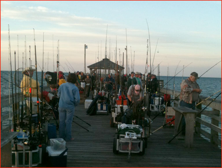 Ocp fish tales rebel king tournament off to a screaming start for Ocean crest fishing pier