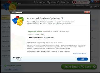 Advanced System Optimizer 3.5.1000.14640 + Crack
