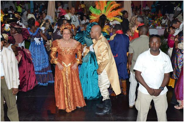 Images des festivités du carnaval 2013 au Palais Sans-Souci et au Cap-Haitien Image-779613