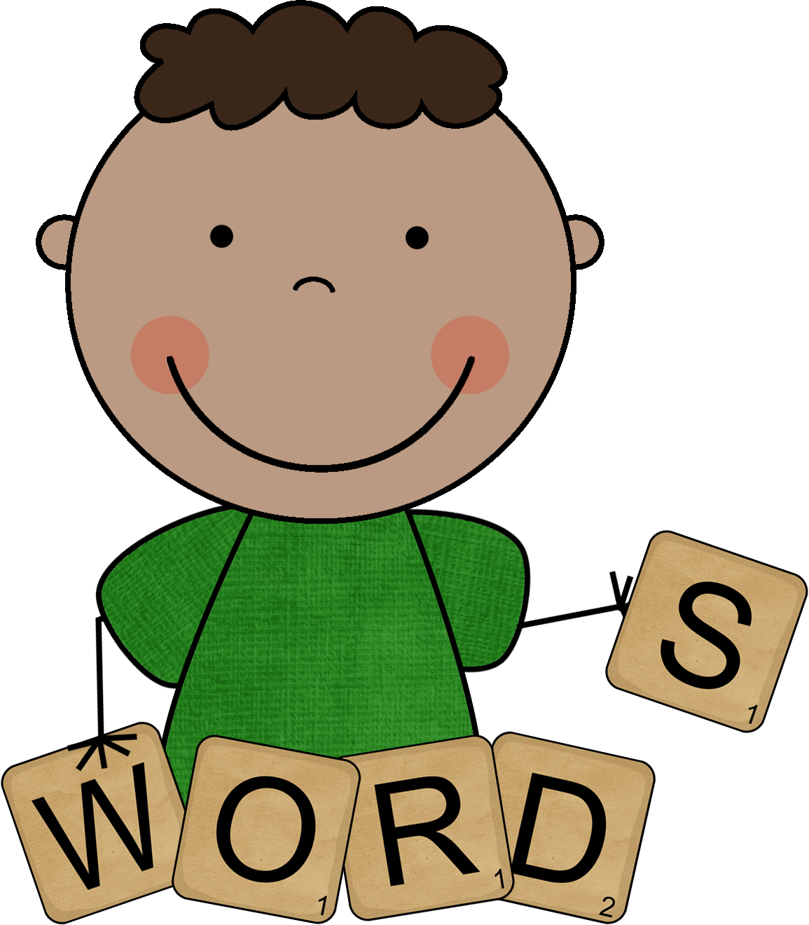 Word Work Clip Art Free 1155 x 1321