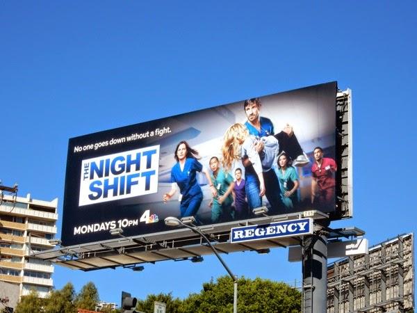 The Night Shift season 2 NBC billboard