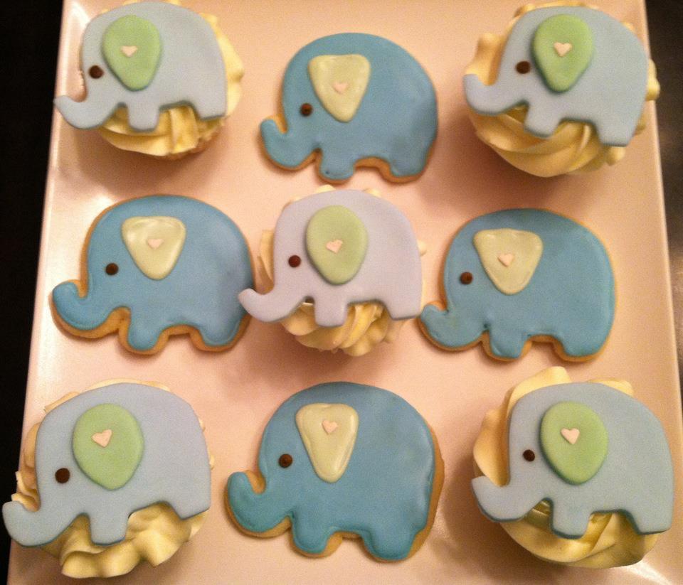 Sweet Treats By Susan Elephant Baby Shower Treats