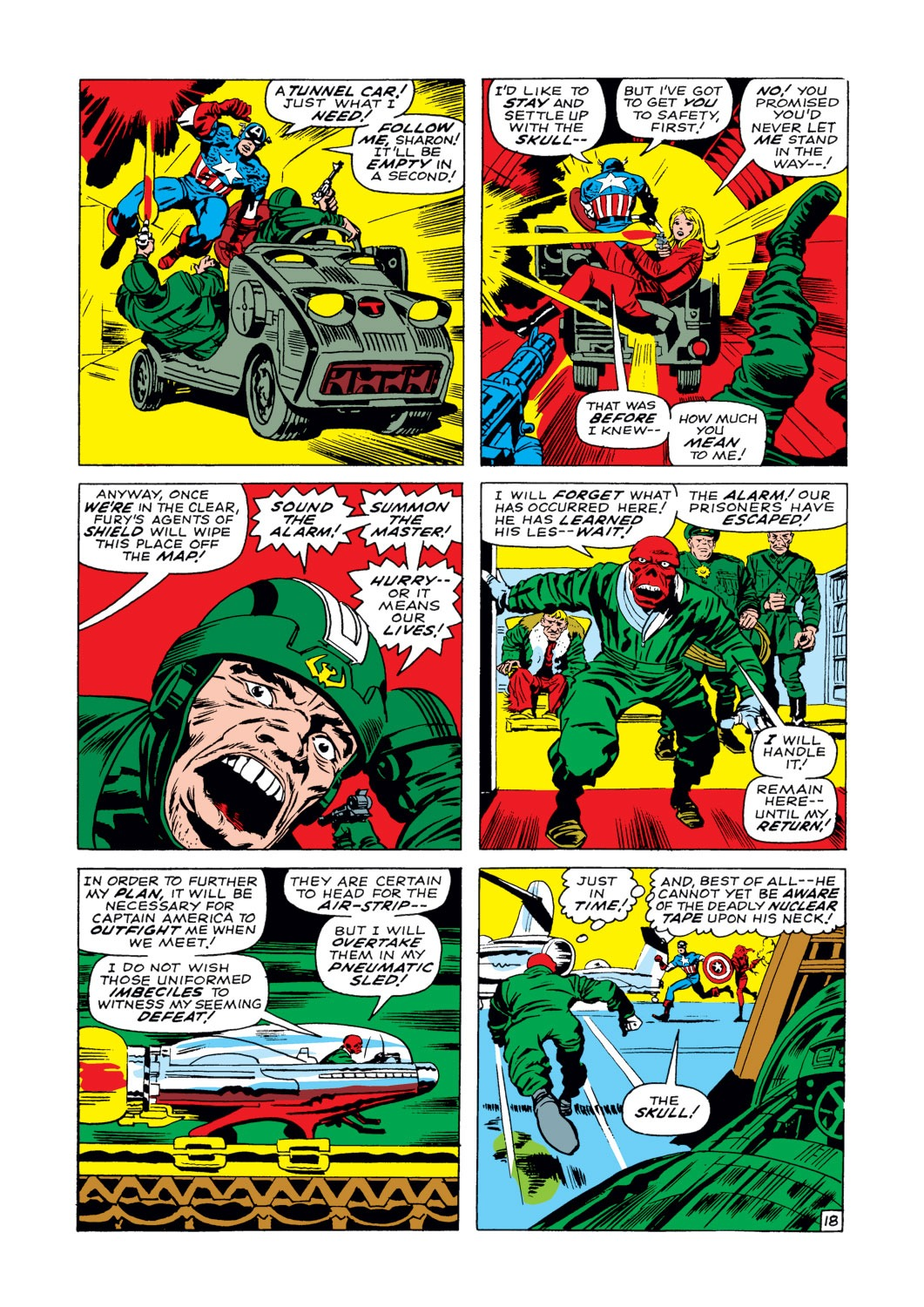 Captain America (1968) Issue #103 #17 - English 19