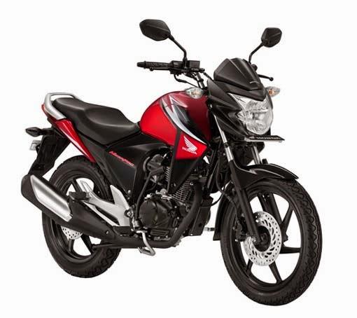 New Honda Mega Pro Red