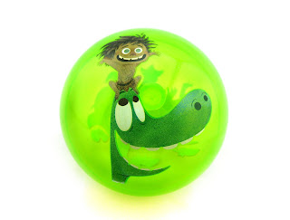 the good dinosaur ball disney store