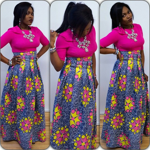 Checkout This Beautiful Ankara Styles Long Skirt Debonke House Of Fashion