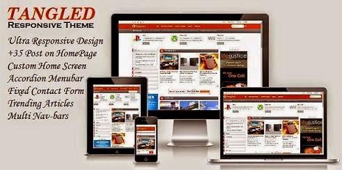 Chia sẻ theme Blogspot tin tức siêu đẹp