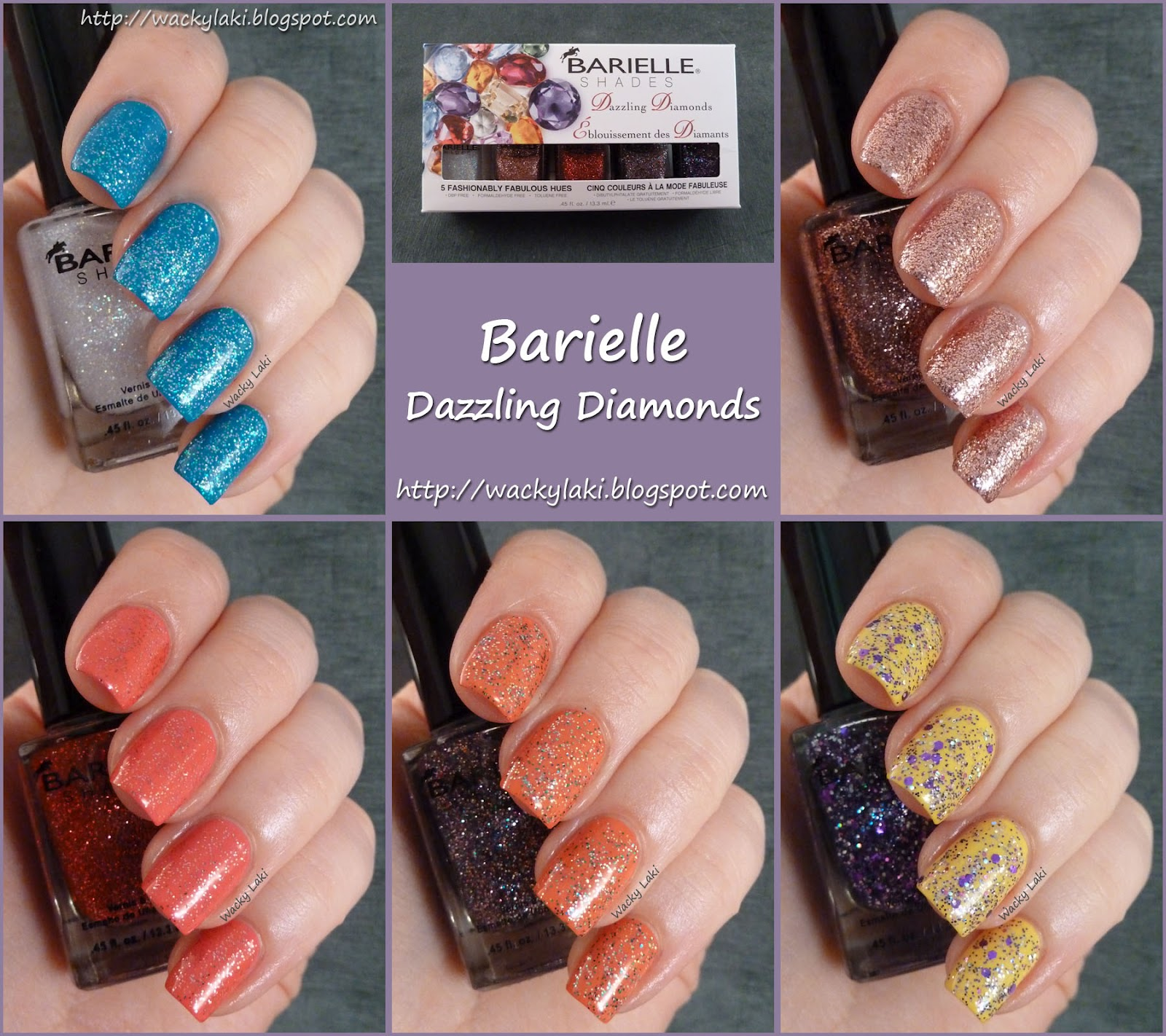Wacky Laki: Barielle: Dazzling Diamonds Collection