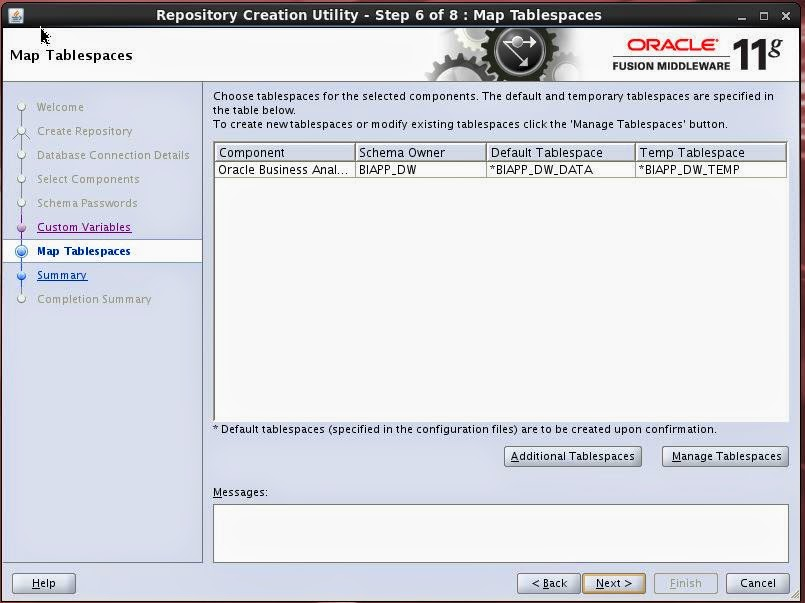 how to create new schema in oracle