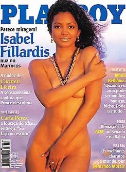 Isabel Fillardis - Playboy 1996