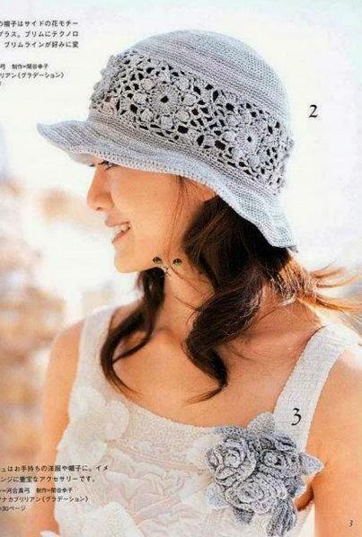 Sombrero a Crochet