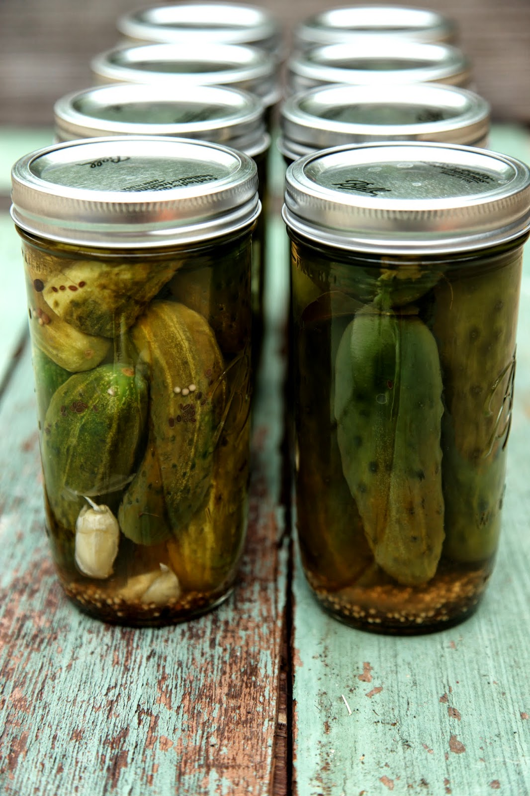 how to make sour pickles
