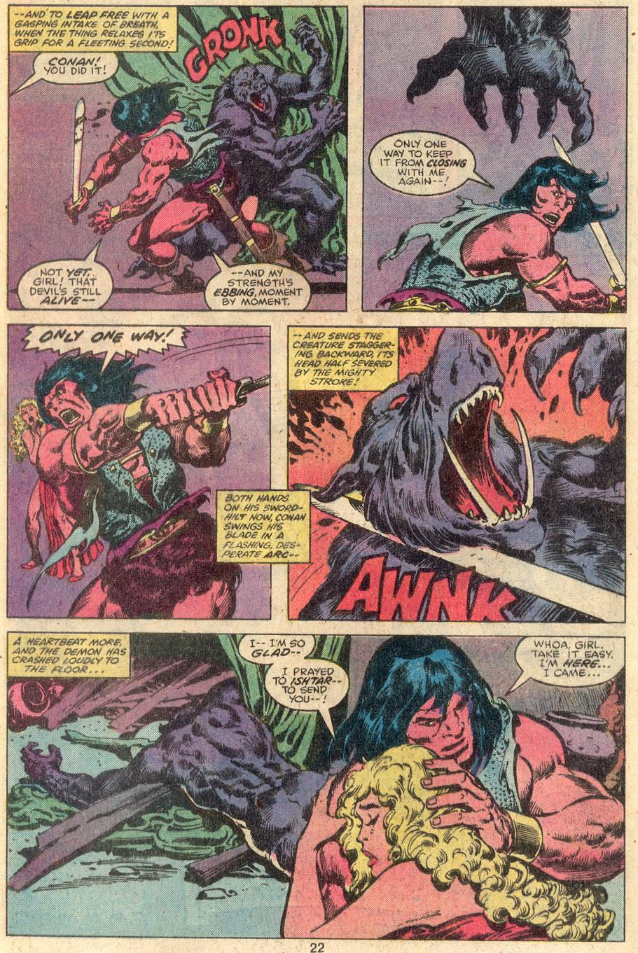 Conan the Barbarian (1970) Issue #107 #119 - English 14