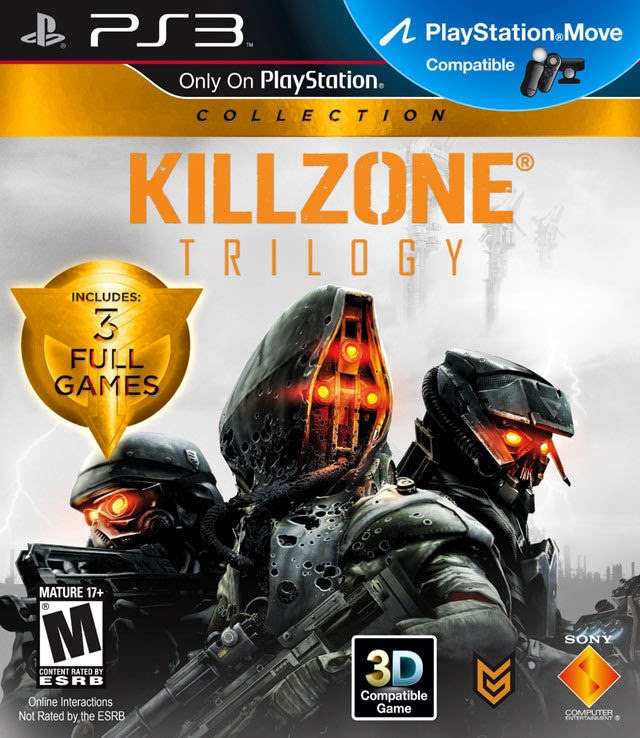 KILLZONE TRILOGY 1+2+3 COLLECTION PS3 GAME BRAND NEW SEALED