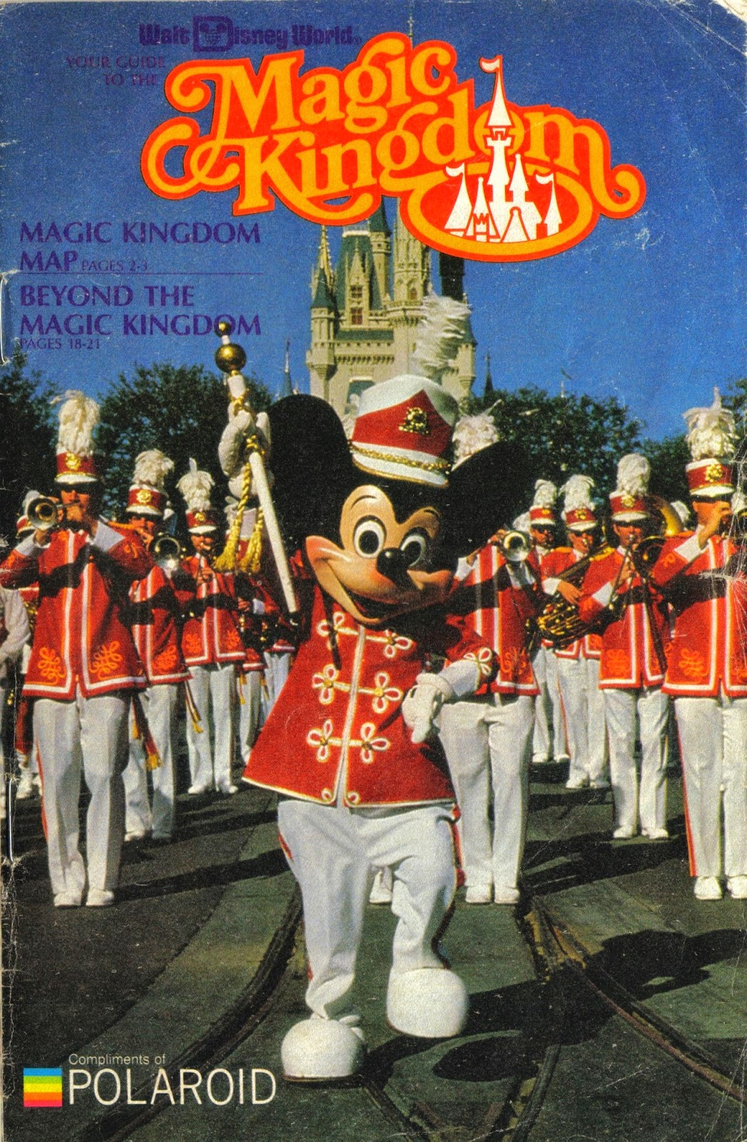 Below: A 1983 Brochure For Walt Disney Worldu0027s Magic Kingdom, Disneyu0027s  First Theme Park In Orlando, Opened On 1 October 1971: