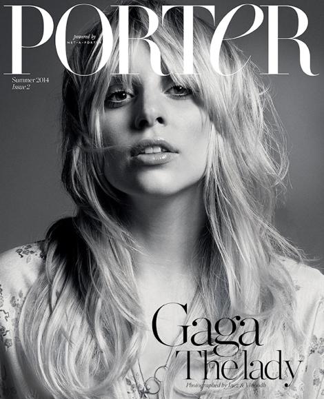 Lady Gaga by Inez & Vinoodh for Porter Magazine Issue 2