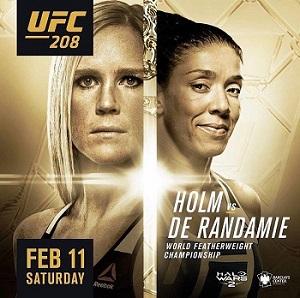 UFC 208 - 11/02 - 21h30