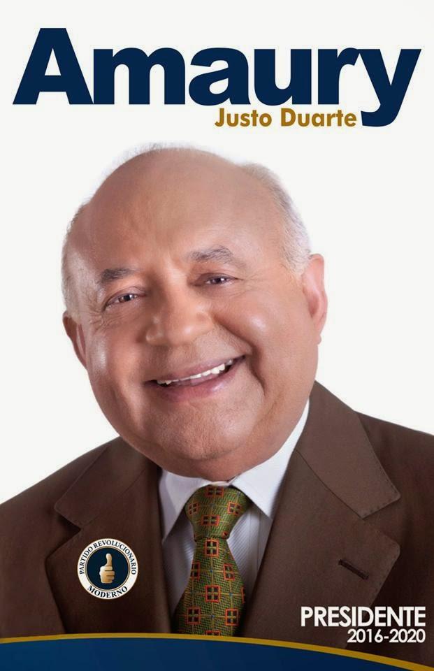 Amaury Justo Duarte presidente por el PRM