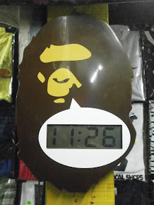 The Bathing Ape Clock
