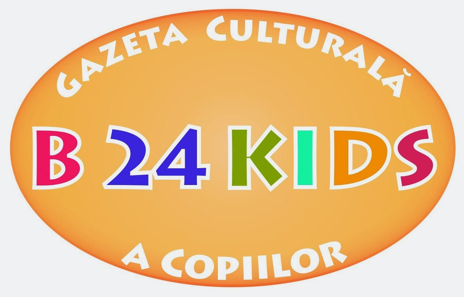 Preluaţi sigla B24Kids.
