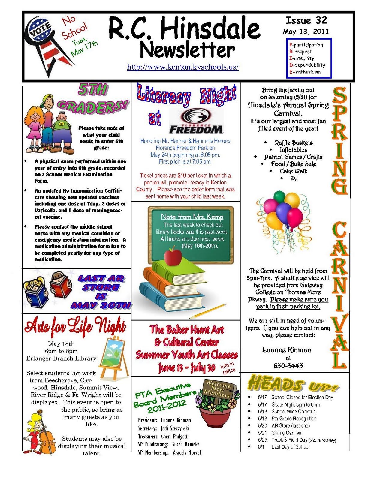 school newsletter templates publisher
