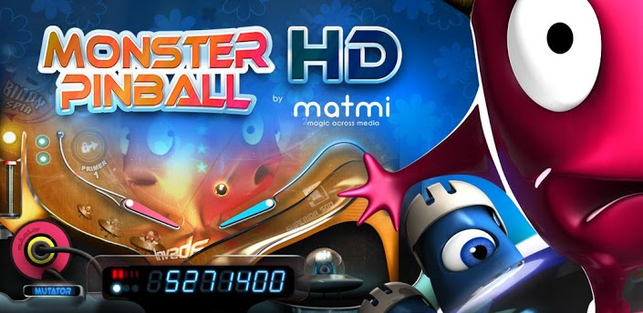 Monster Pinball HD Features include: