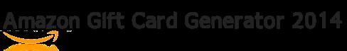 Amazon Gift Card Generator 2014