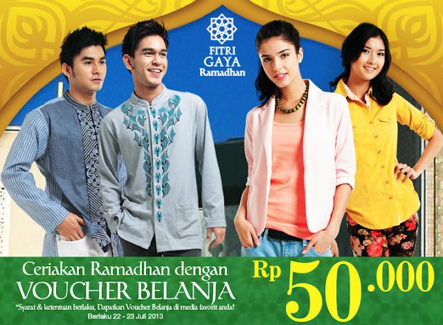 Promo Matahari Terbaru Voucher Belanja Rp50.000 Berlaku 22-23 Juli 2013
