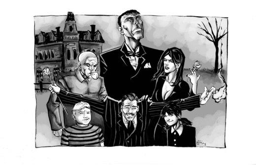 The Addams Family PH por thecreatorhd