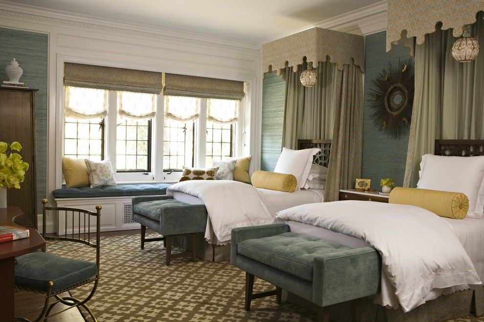 Inspired By French Antique Beds, Marshall Watson Designed These Replicas  For A Grown Up, Old World Style Twin Bedroom.