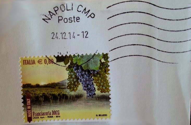 francobollo vino Franciacorta DOCG
