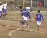 Iranian soccer teammates get red cards for fighting each other