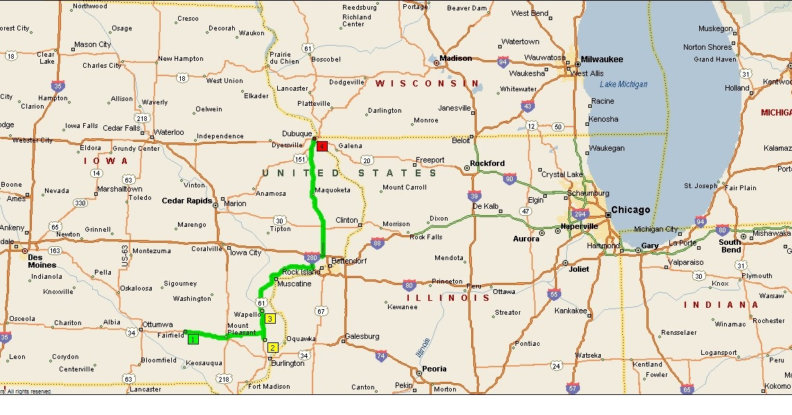 Roving Reports By Doug P 2013 19 Burlington To Dubuque Iowa