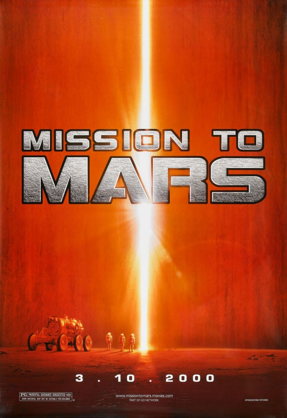 when is the mission to mars
