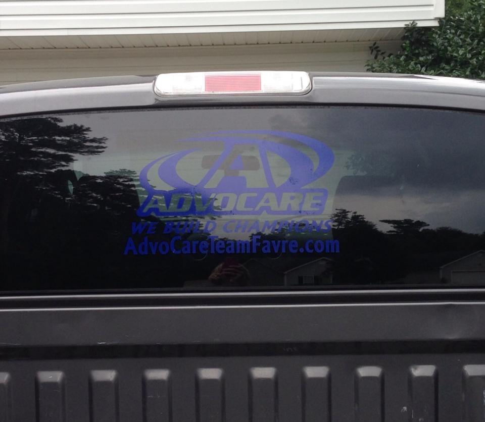 WhatACuteIdea Advocare Decals - Advocare car decal stickers