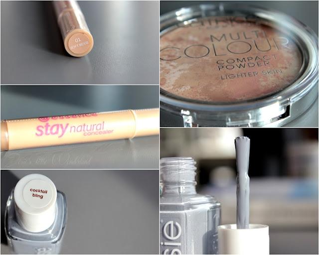 Beauty | xxl Shoppingausbeute - haul, make up, compact powder, concealer, catrice, essence, essie, nails, grey, cocktail bling, blog, josie´s little wonderland