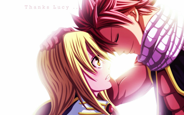 lucy heartfilia and natsu dragneel fairy tail anime hd wallpaper