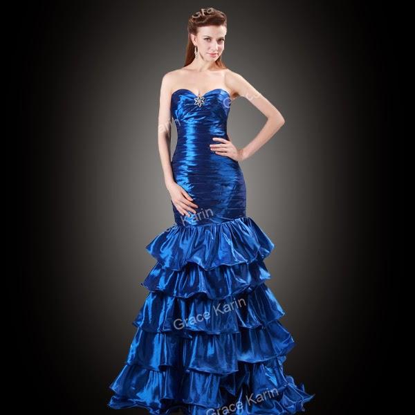 Model dan foto gaun pesta mewah elegan simpel terbaru masa kini