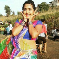 Kajal raghwani shooting site picture