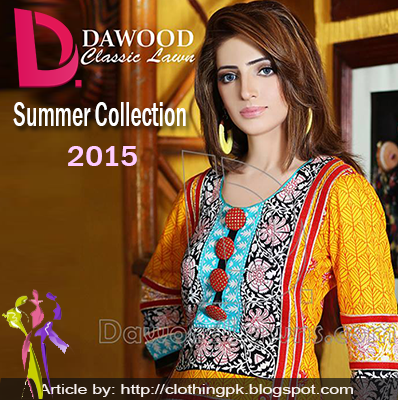 Dawood Classic Summer Lawn Collection 2015 Vol-2 for Ladies