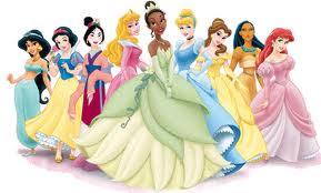 princesa tiana con princesas disney