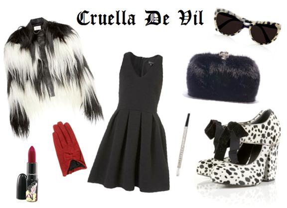Cruella de Vil's Fashion Style
